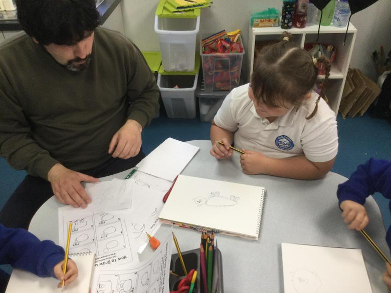 'The Big Draw' is an event to raise the profile of drawing