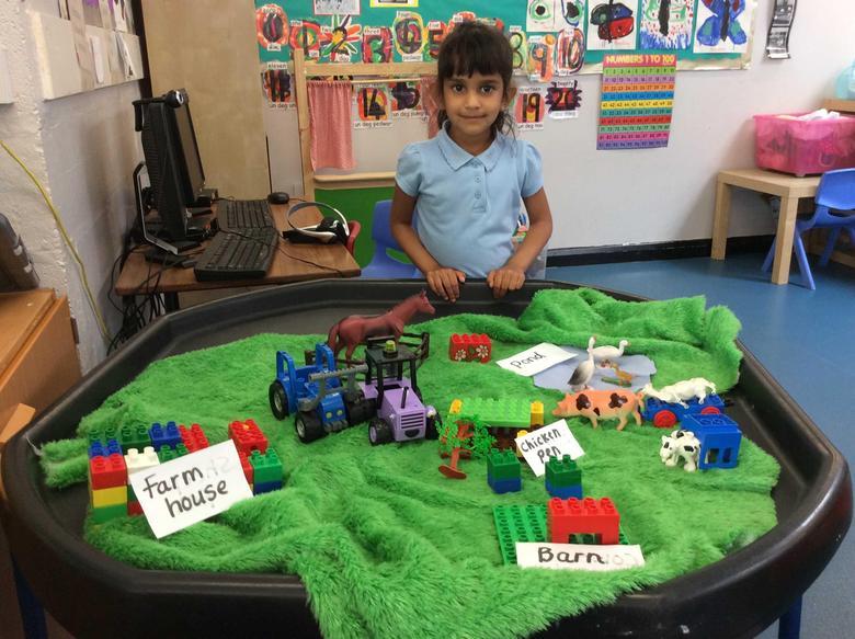 Making a model of a farm!