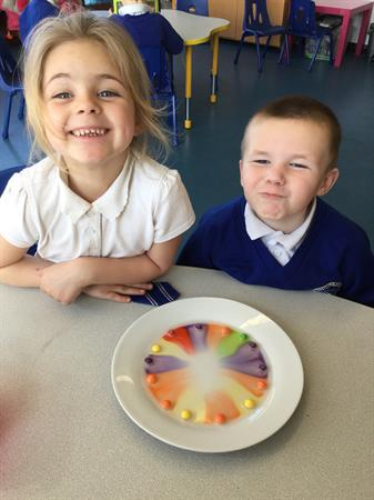 Science week - colours