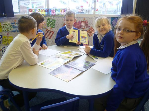 Grwp Glas working together - well done!