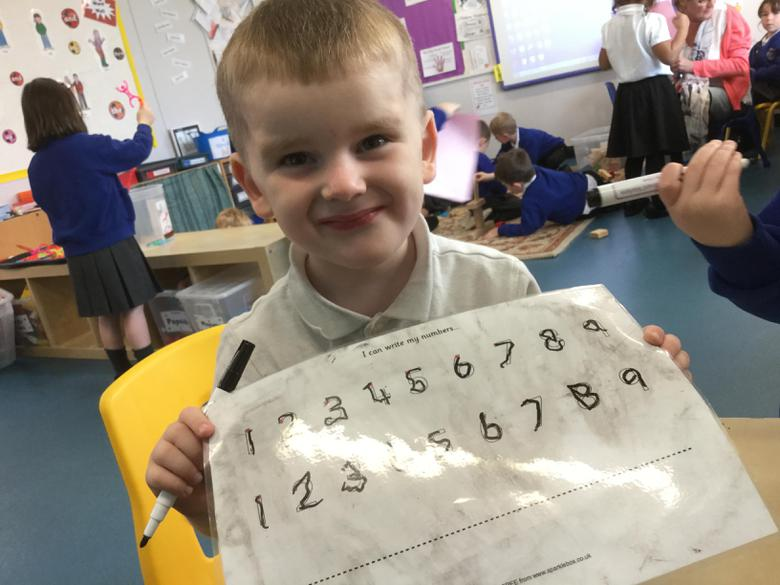 Great number formation!