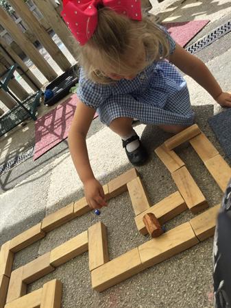 making a maze