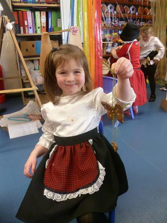 Dressing up for St David's day