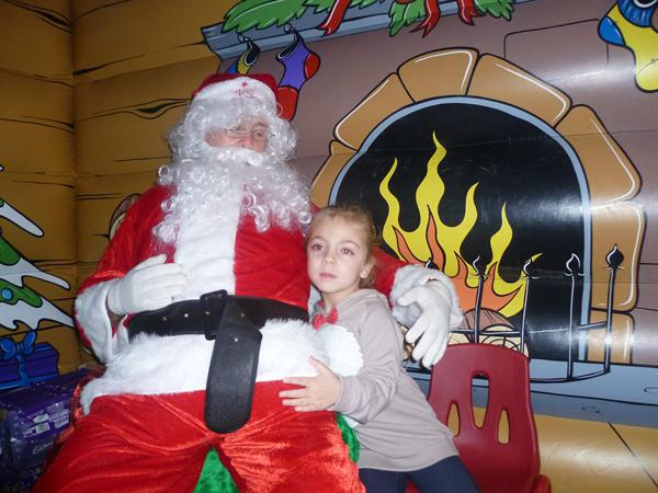 We got to see Father Christmas!