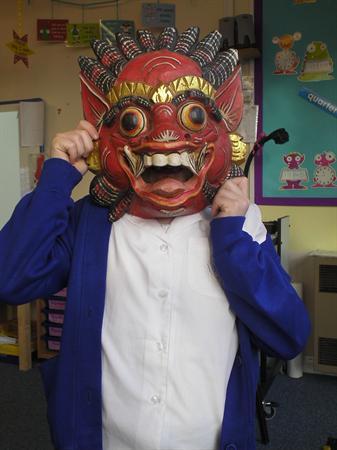 January 2013 - masks from Mexico