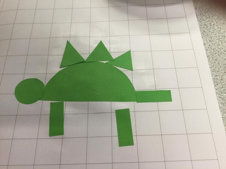 Look at my stegosaurus.
