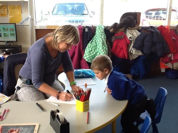 October - Dictating a sentence and learning letter