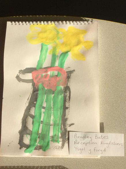 Still life paintings of daffodils!