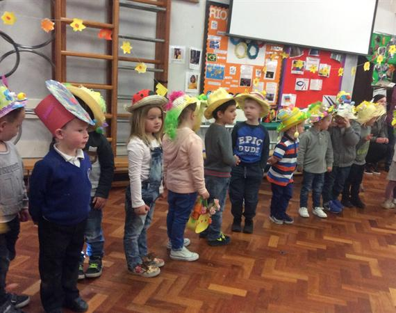 Easter Hat Parade PM