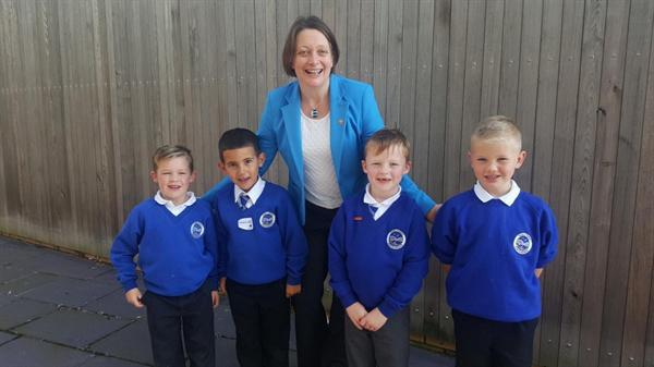Meeting the Children's Comissioner Sally Holland