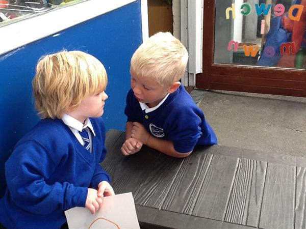 September - Having a chat with our friends next do