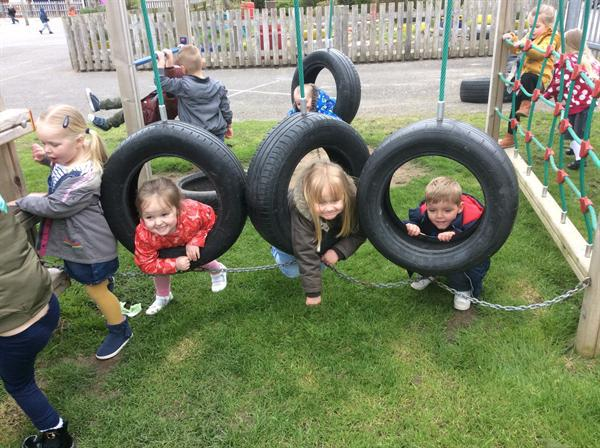 On the Climbing Frame 2