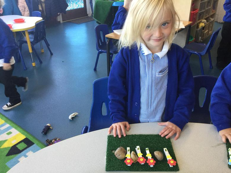 I've made a repeating pattern on my own