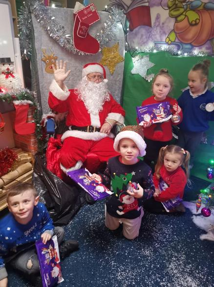 We went to see Santa
