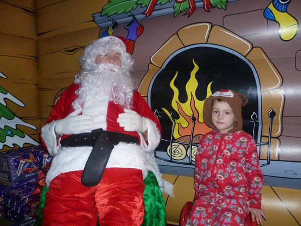 Visiting Father Christmas