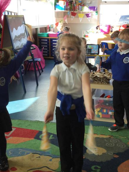 We dance with our flipper flappers