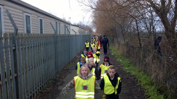Feb 2014 - Towyn Park Visit
