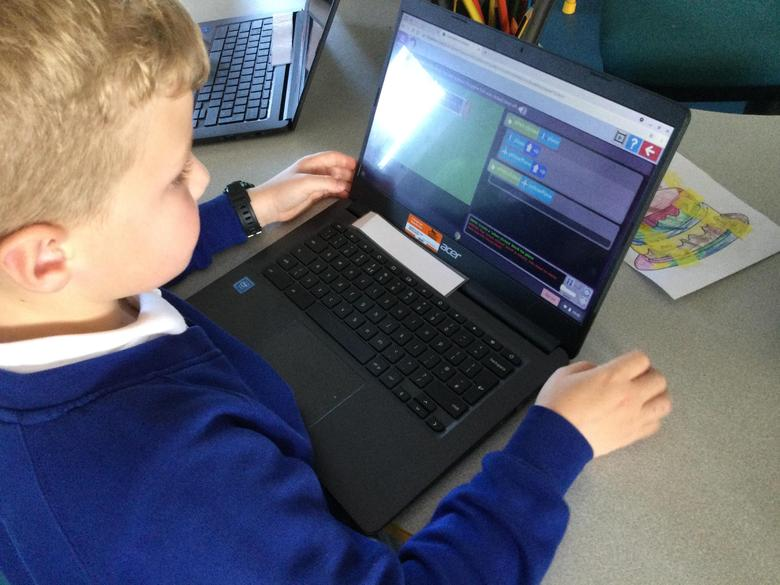 This half term we are learning to code