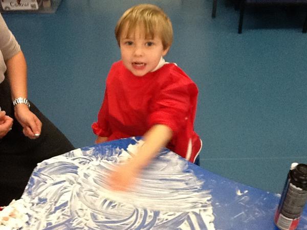 We love the shaving foam!