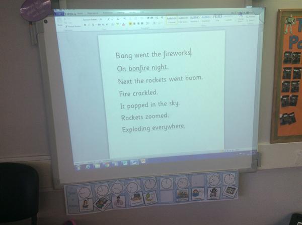 Bonfire Acrostic Poems