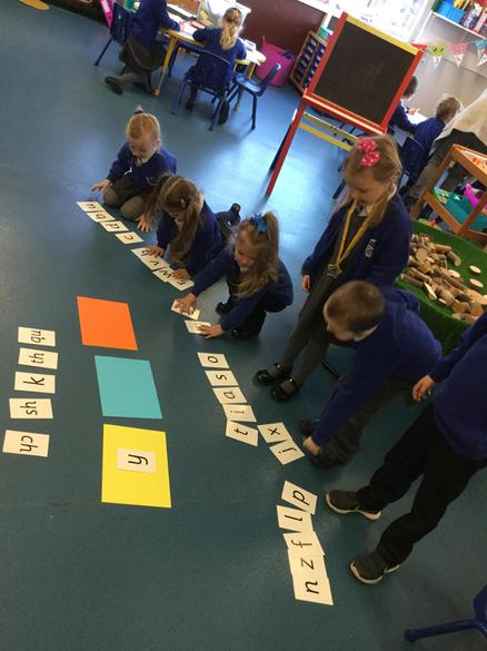 We worked together to build words