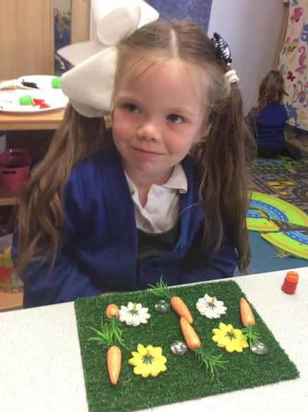 We have been learning about repeating patterns