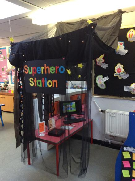 Our superhero station