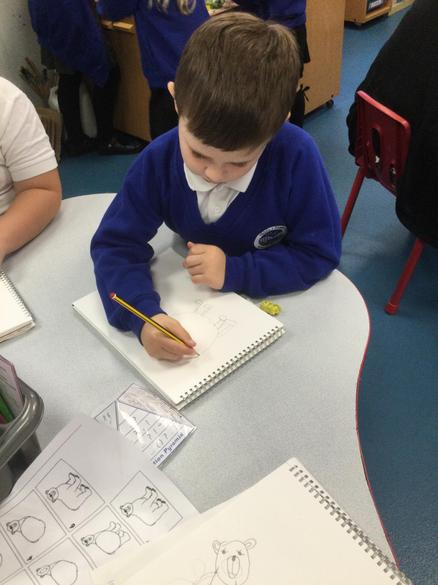 This task included the Eco theme of polar bears