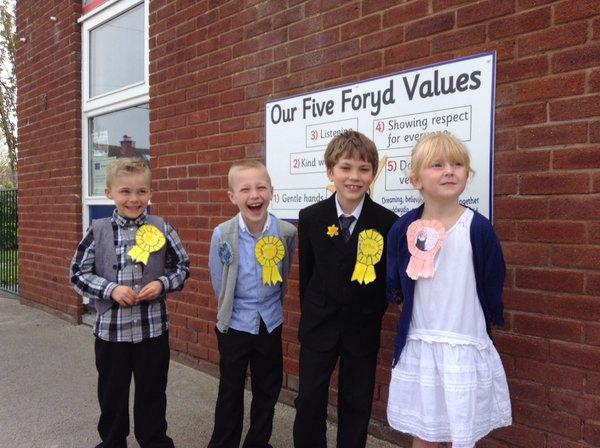 Winning party at the y Foryd Elections May 2016