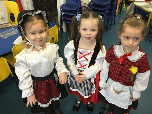 Our National Welsh Outfits