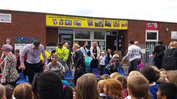 Oct 2014 - 'Rutter' Ice Bucket Challenge
