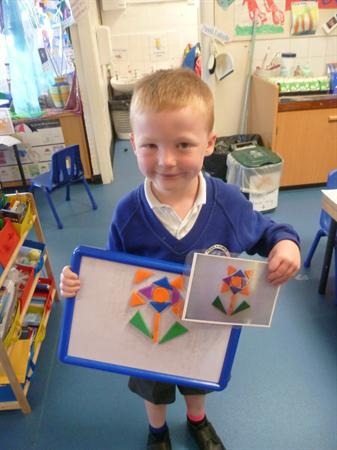 Recreating pictures with our magnetic shapes