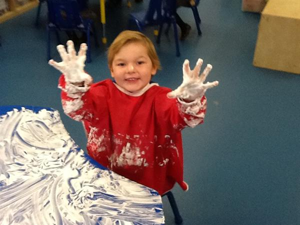 We love messy fun!