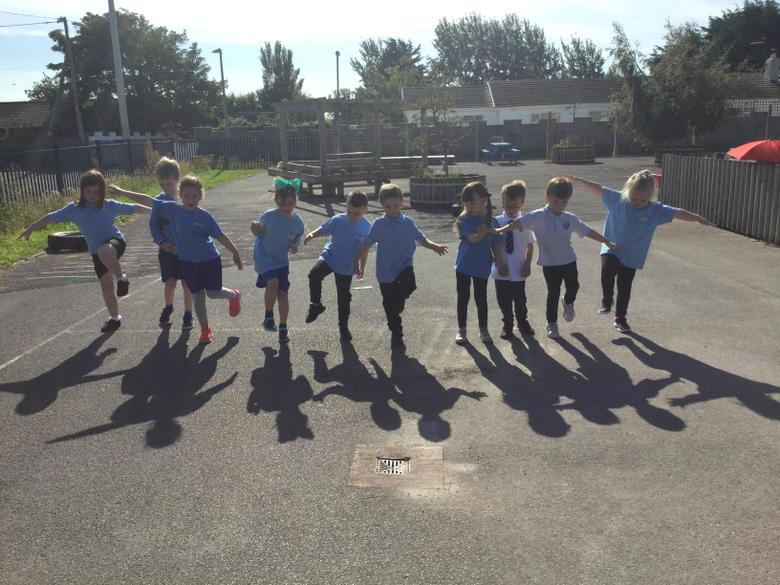 Can you see our shadows?