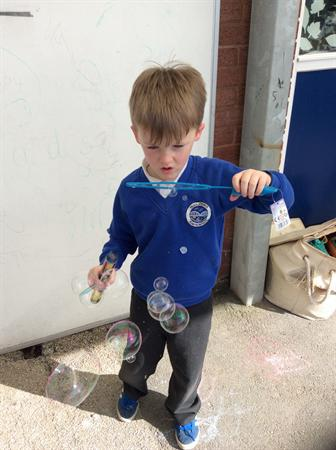 May - making bubbles