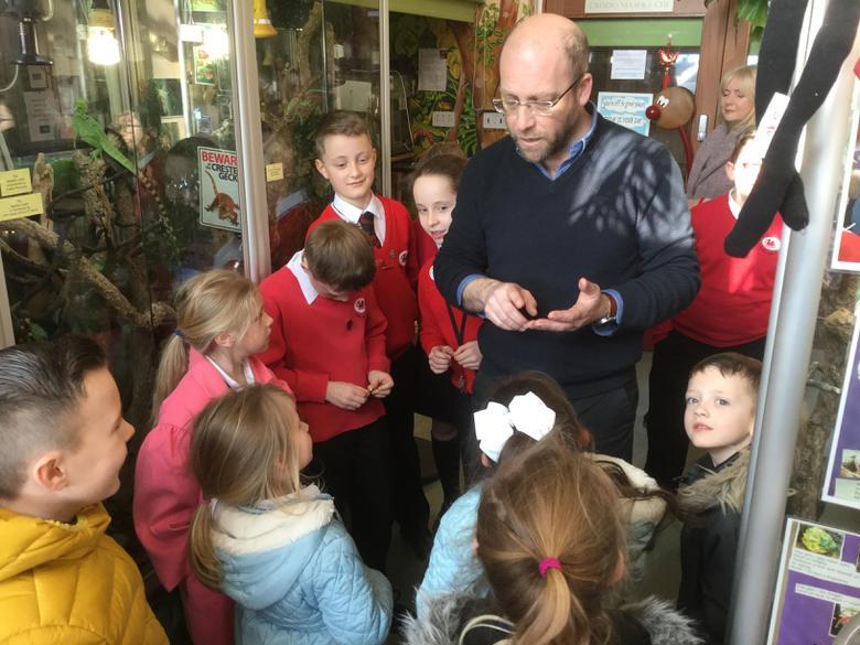 Mr Jones welcomes us to his school