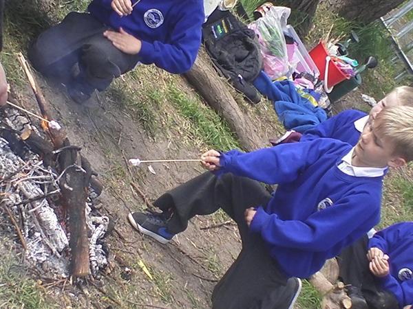 May 2013 - correct way to toast a marshmallow