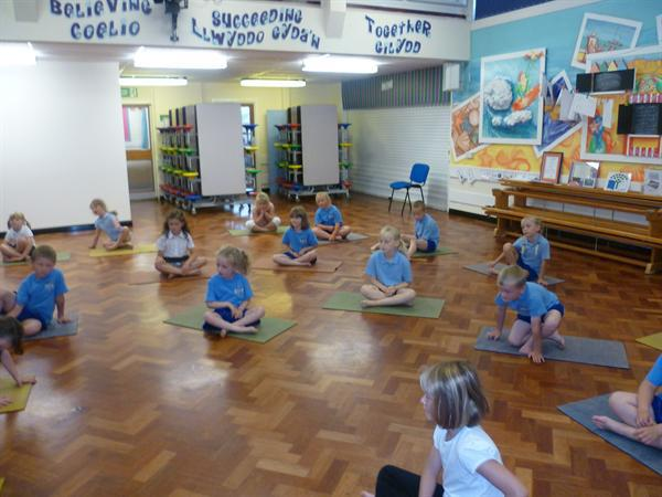 Our first gymnastics session this term