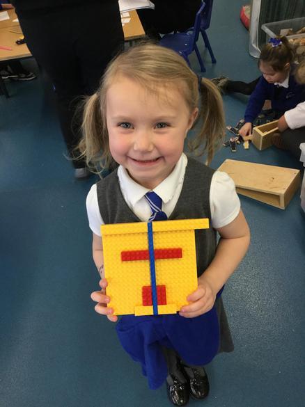 Symmetry with lego