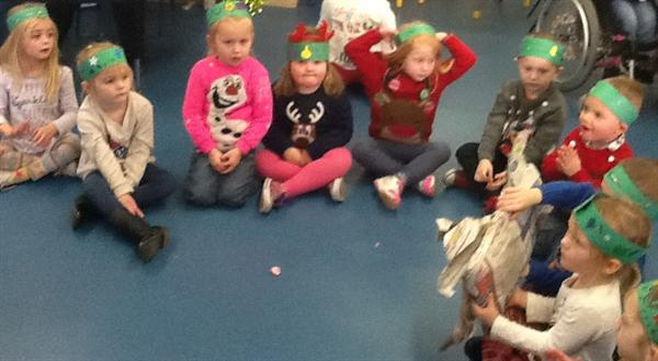 Playing pass the parcel