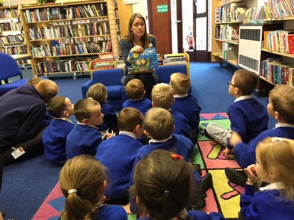 Nov 2015 - Kinmel Bay Library Visit