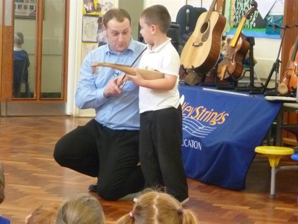 Key strings visit