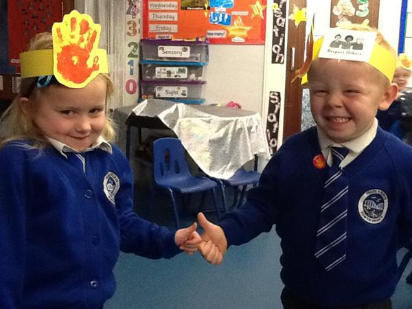 Respecting others week - Smiling friends