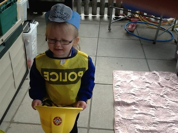 I want to be a police officer when I grow up