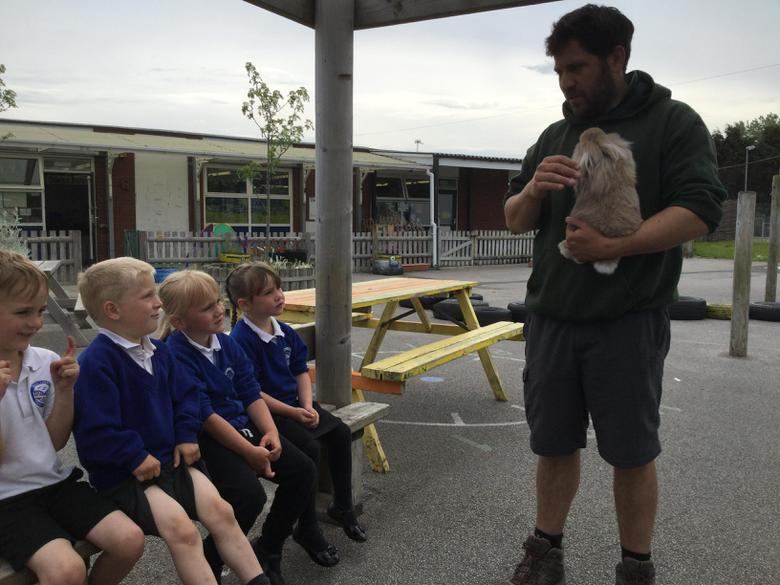 Will told us all about the animals he brought