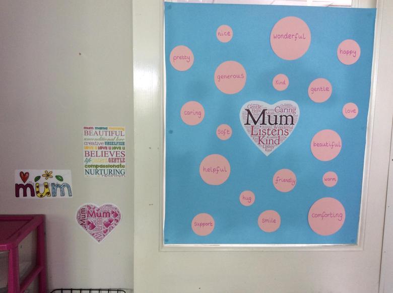 Words to describe Mum