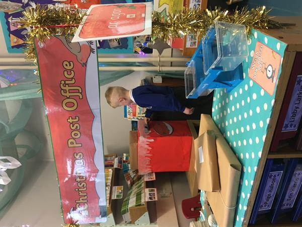 The Christmas Fairy visited Clwyd!