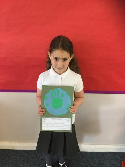 Writing how we look after our planet