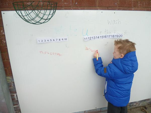 November - Maths Makes Sense in the outside classr
