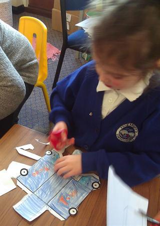 Feb 2013 - Making Paper Vehicles